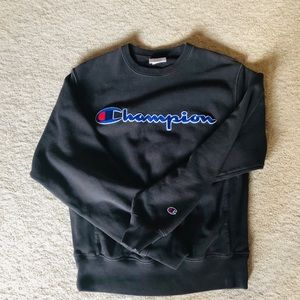 Champion sweatshirt worn only a few times